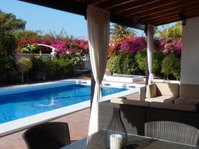 View of Private pool Tenerife